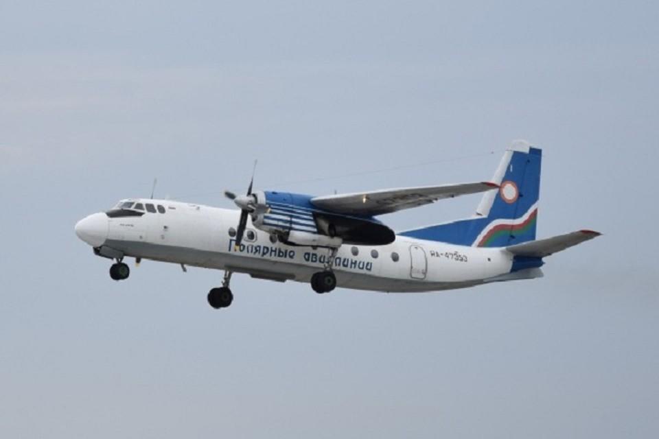 Никто из 30 пассажиров воздушного судна не пострадал.