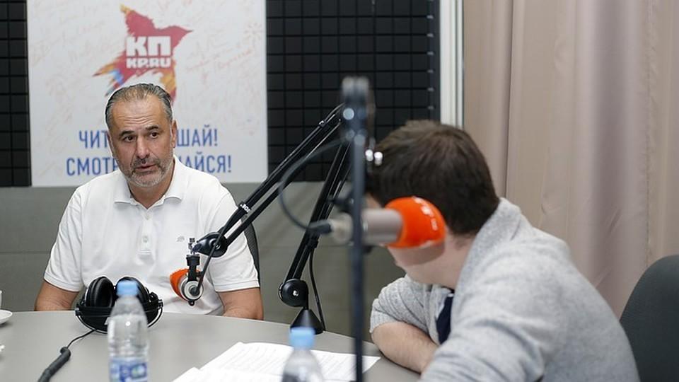 Наставник самарцев дал эксклюзивное интервью радио «КП-Самара» 98.2 FM