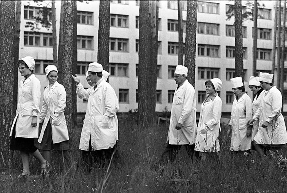 В Екатеринбурге покажут редкие фото времен строительства Медгородка. Фото: пресс-служба МИЕ