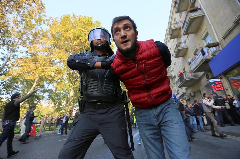 Митинг оппозиции в Баку: задержаны 60 человек