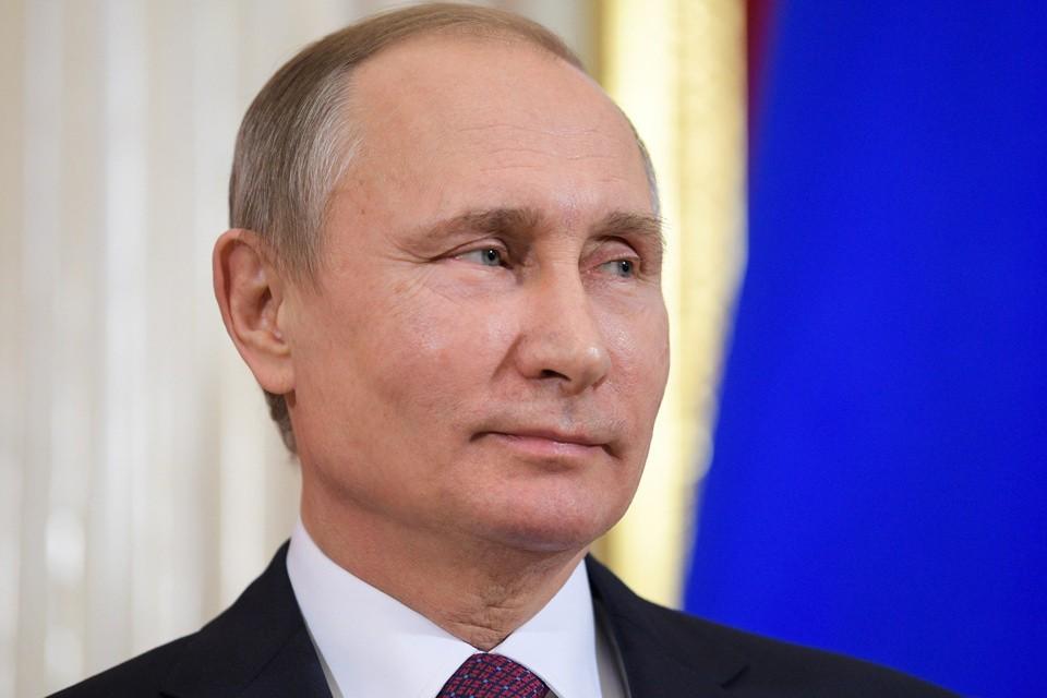 Владимир Путин. Фото Алексея Дружинина / ТАСС