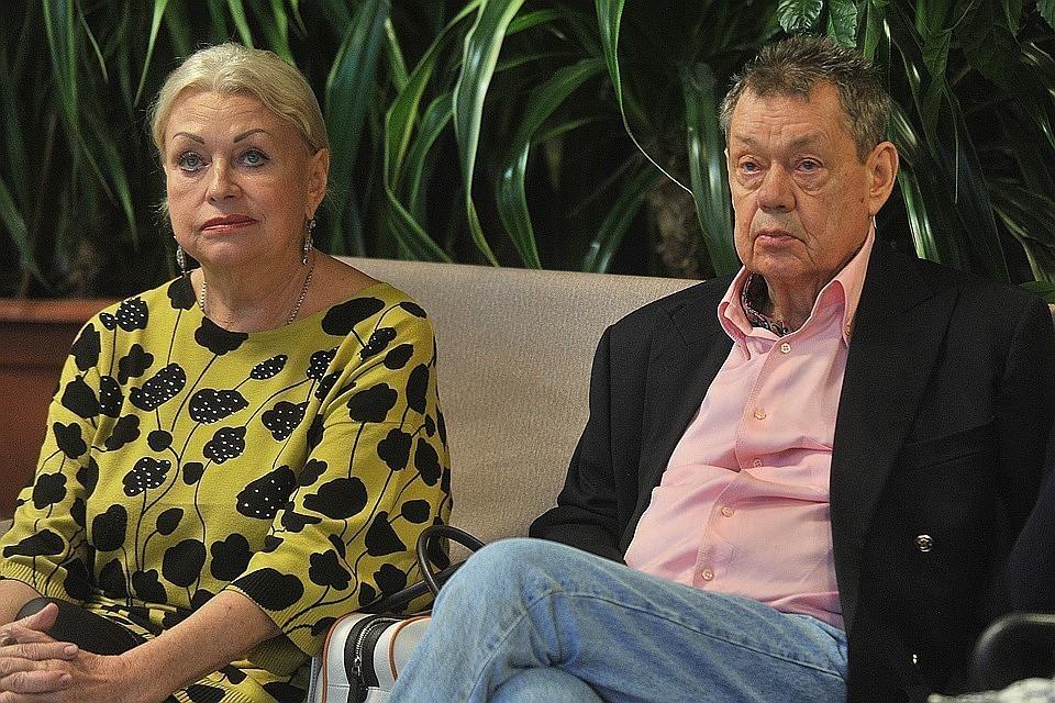 Николай Караченцов и Людмила Поргина в 2016 году