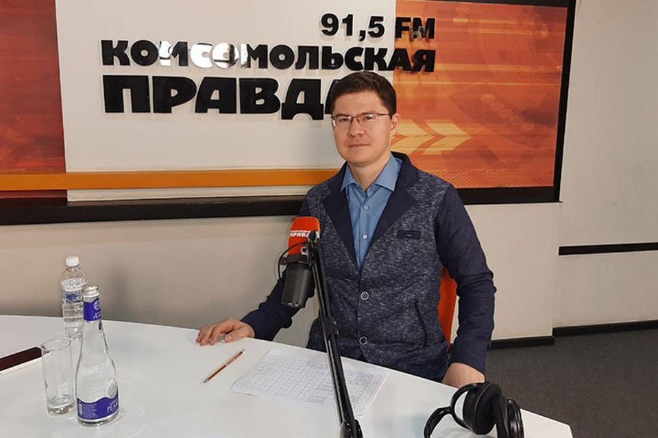 Руководитель Центра поддержки экспорта Иркутской области Антон Шин. Фото: Ольга ПИДГРЕБЕЛЬНАЯ
