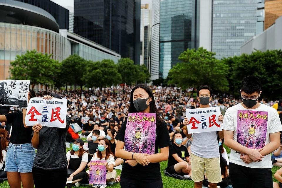 Власти Гонконга приняли решение окончательно отозвали законопроект об экстрадиции