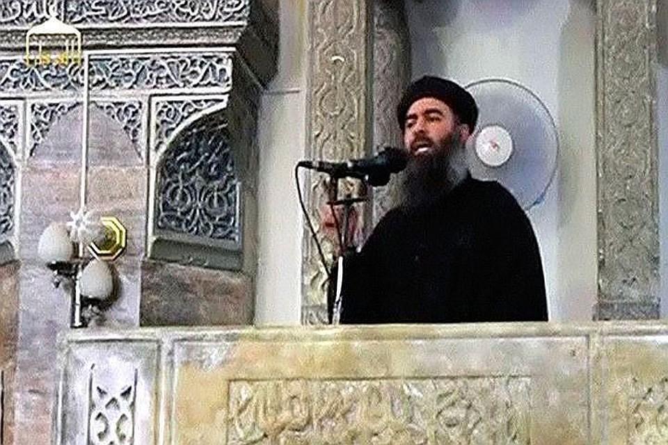 Главарь ИГ* Абу Бакра аль-Багдади
