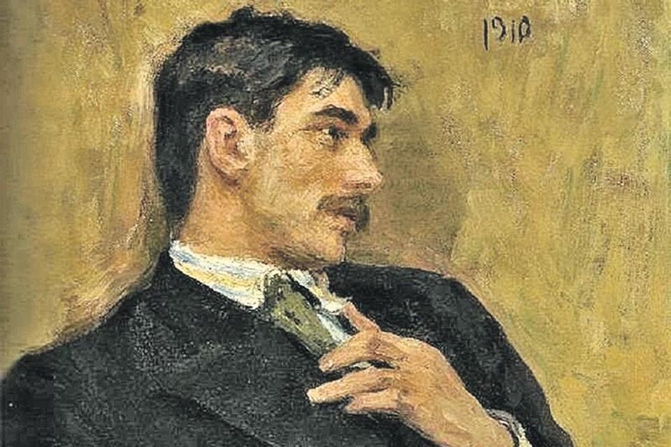 Этот портрет 28-летнего писателя сделал Илья Репин: их связывала настоящая дружба. Фото: wikipedia.org