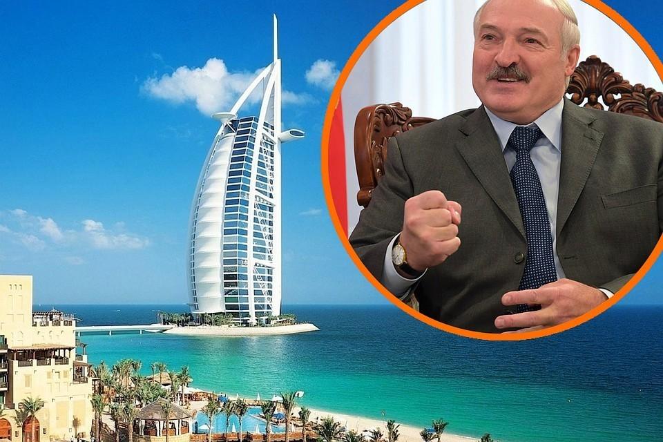 """Лукашенко улетел в Объединенные арабские эмираты. Фото: РИА """"Новости"""". Фото носит иллюстративный характер."""
