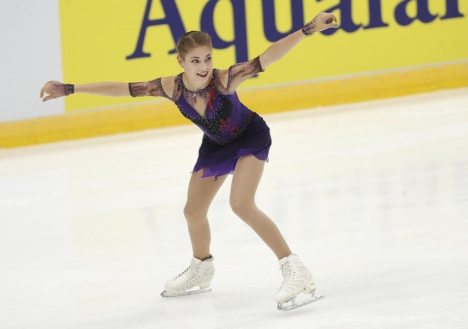 Алёна Косторная чисто выполнила все прыжки в программе