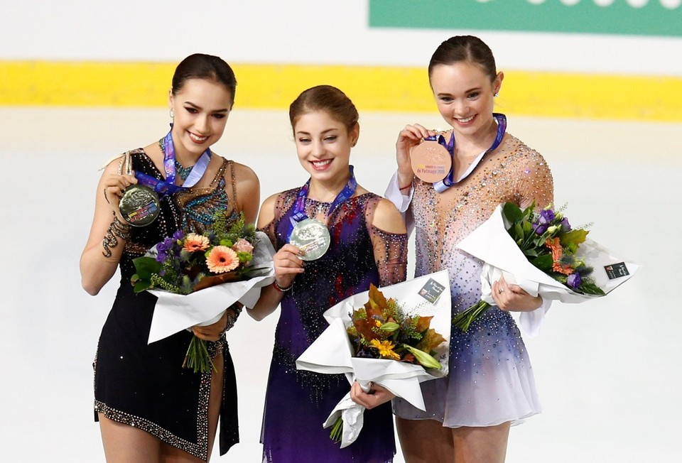 Алене Косторной все же дали нужную медаль.