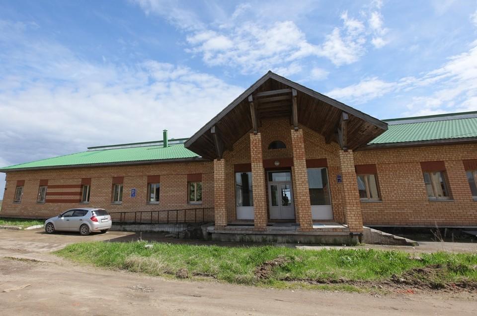 В этом здании будет располагаться Центр паллиативной помощи. Фото Дмитрия Напалкова