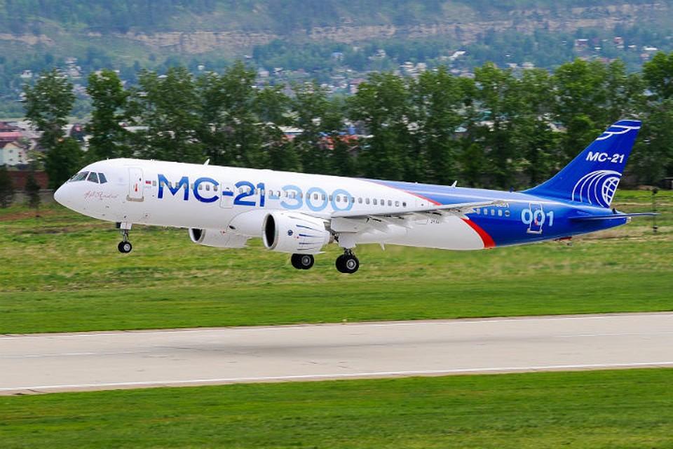 """Как выглядит кабина пилотов самолета МС-21. Фото: корпорация """"Иркут"""""""