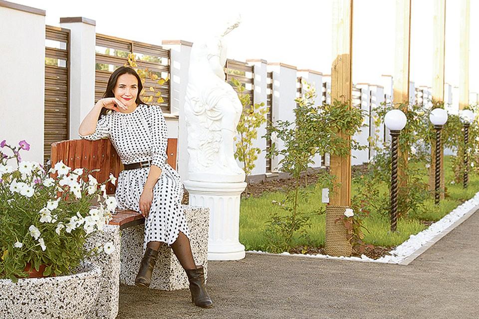 Кристина Яковенко: - Жизнь за городом - это тренд, который с каждым годом только набирает обороты. Фото: «Хрустальный»