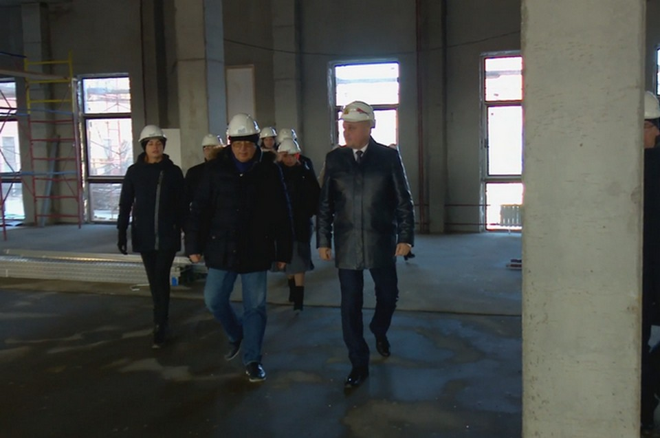 Кассационный суд в Кемерове построят раньше срока. ФОТО: кадр видео АКО