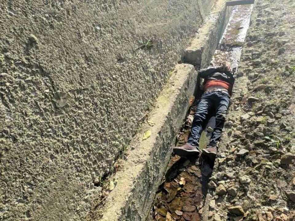 Мужчина сорвался со скалы
