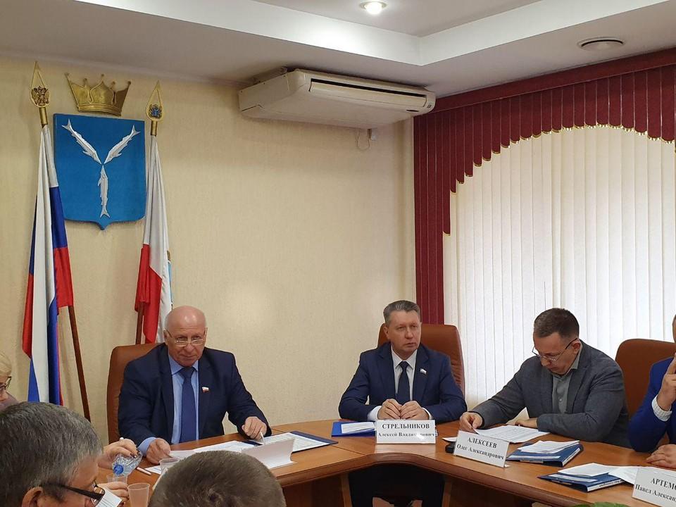 Заседание аграрного комитета облдумы