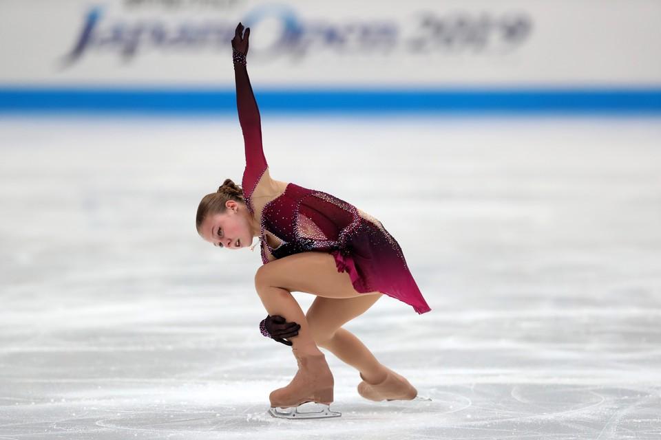 Александра Трусова выступит на Гран-При России.