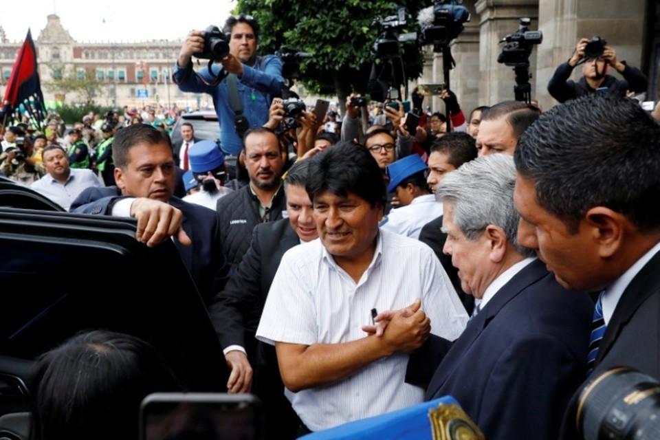 Экс-президент Боливии Эво Моралес в Мексике