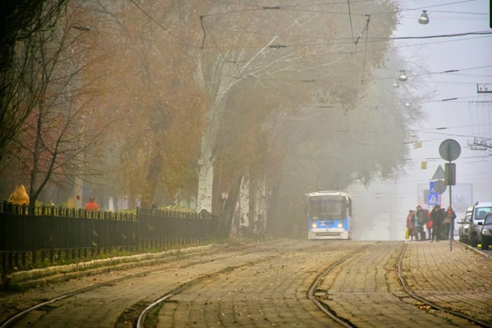 Туман в городе. Фото: Евгения Карпачева
