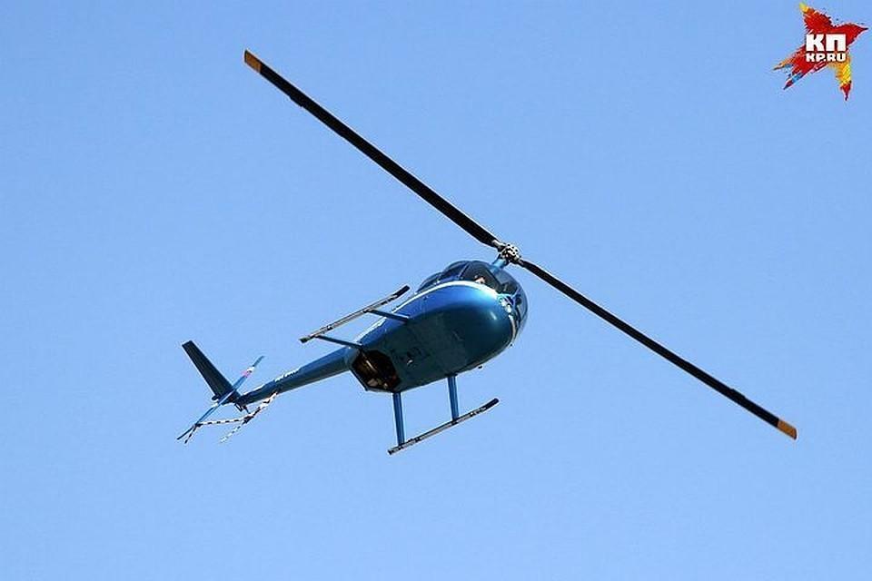 Ни в МЧС, ни в Следственном отделе на транспорте информации про упавший вертолет нет [снимок носит иллюстративный характер].