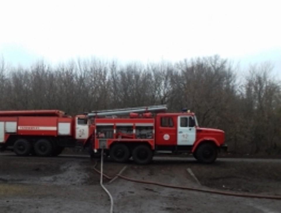 Ущерб и причина пожара устанавливаются
