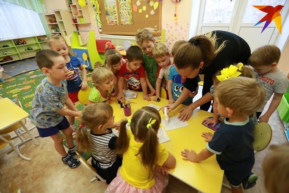 Очередь в детсады ждут в основном семьи Советского района.