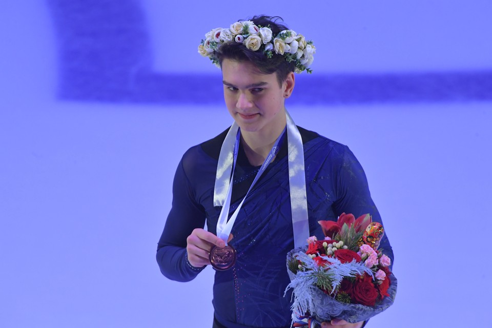 Макар Игнатов - дебютант Гран-при в этом сезоне