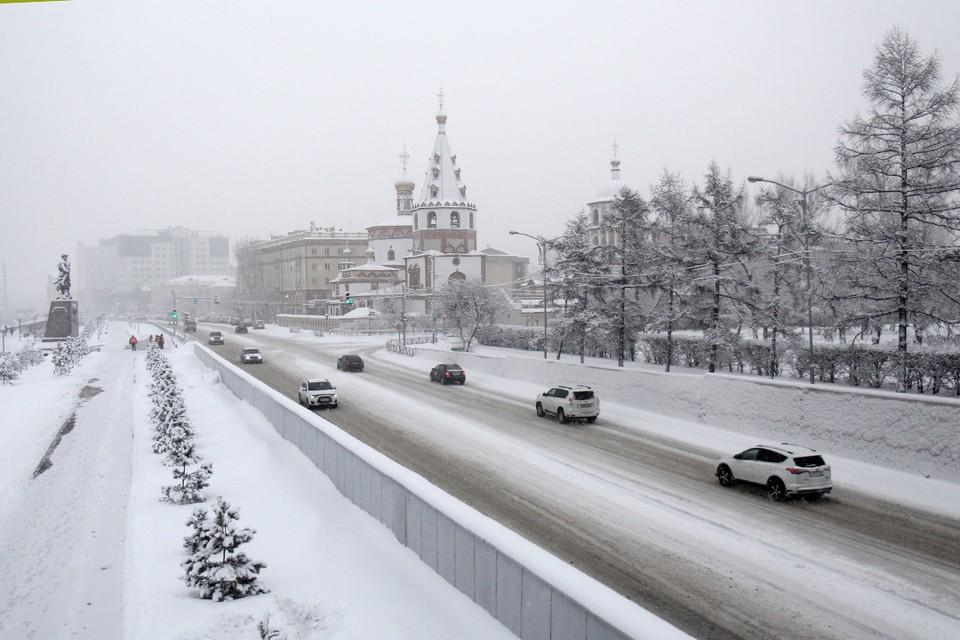 Прогноз погоды на 25 ноября в Иркутске: днем небольшой снег