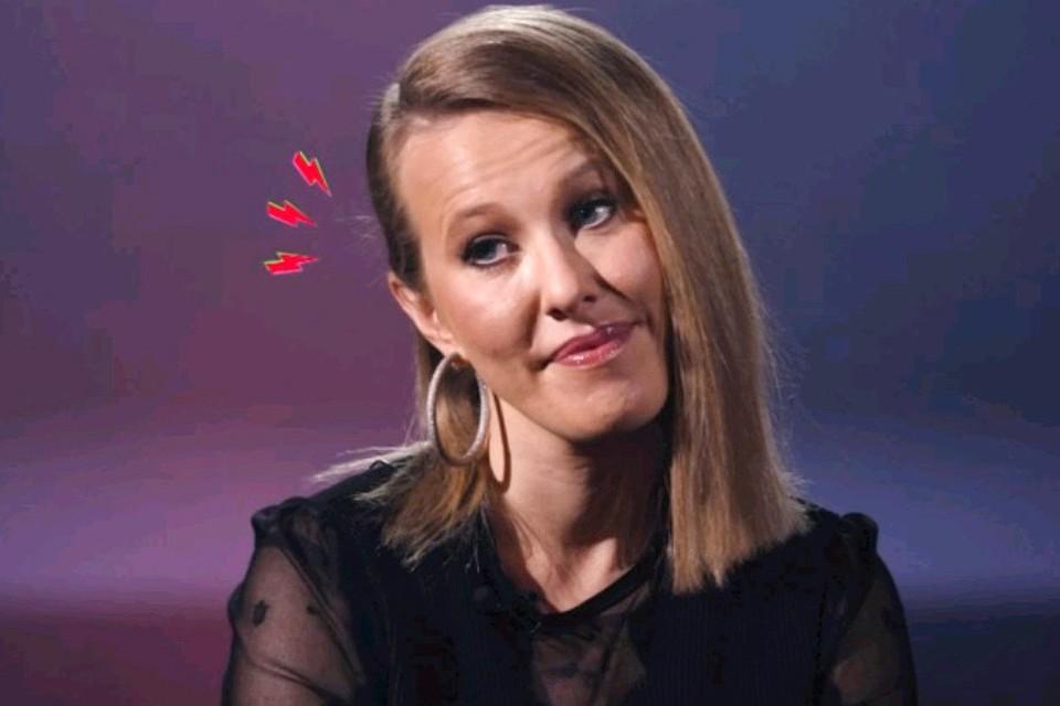 Ксения Собчак в шоу «Хейт-ток».
