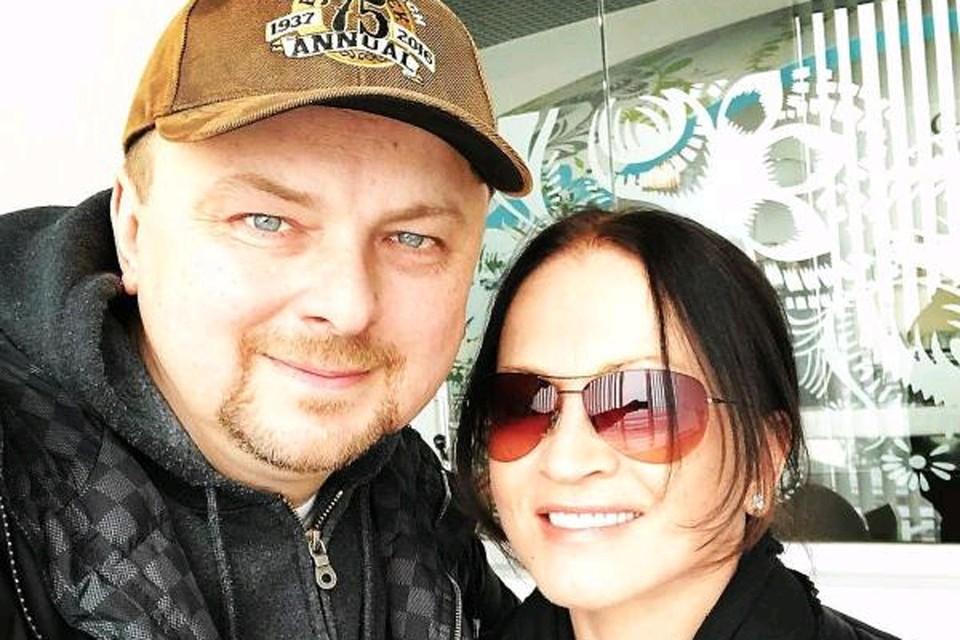 Певица София Ротару с сыном Русланом.