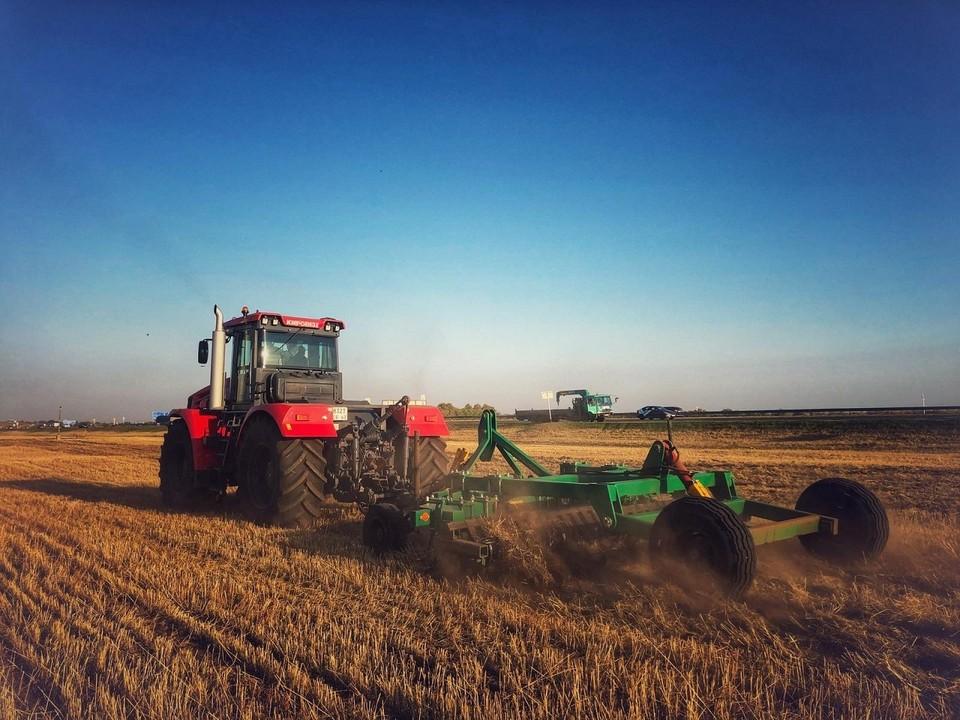 Зерна всего намолотили 1.8 млн тонн. Фото: правительство Самарской области.