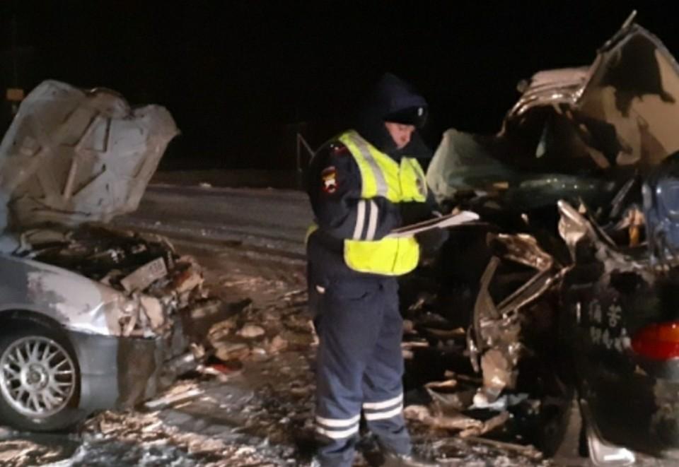 Трое погибли, трое ранены Фото: ГУ МВД по Красноярскому краю