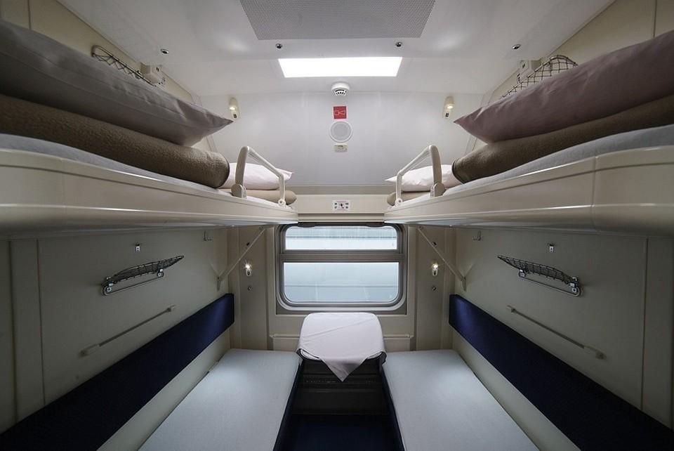 Так будет выглядеть вагон изнутри. Фото: Гранд Сервис Экспресс