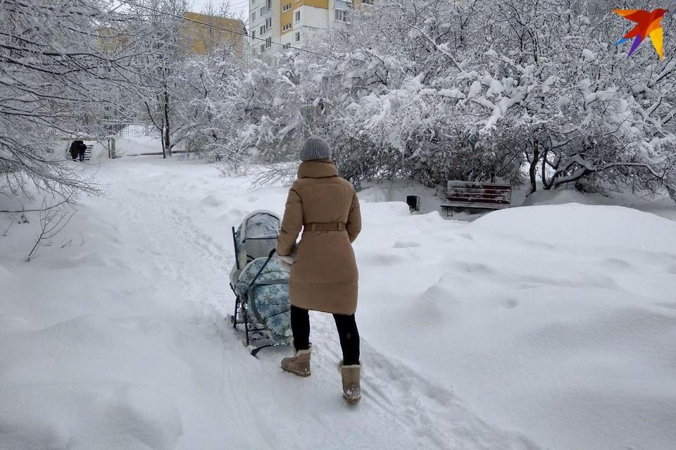 Утром в среду Саратов накроет снегом