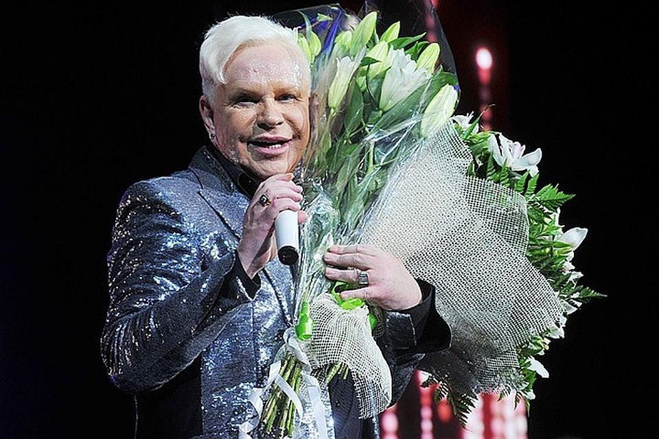Борис Моисеев не выступает на сцене и не появляется на публике