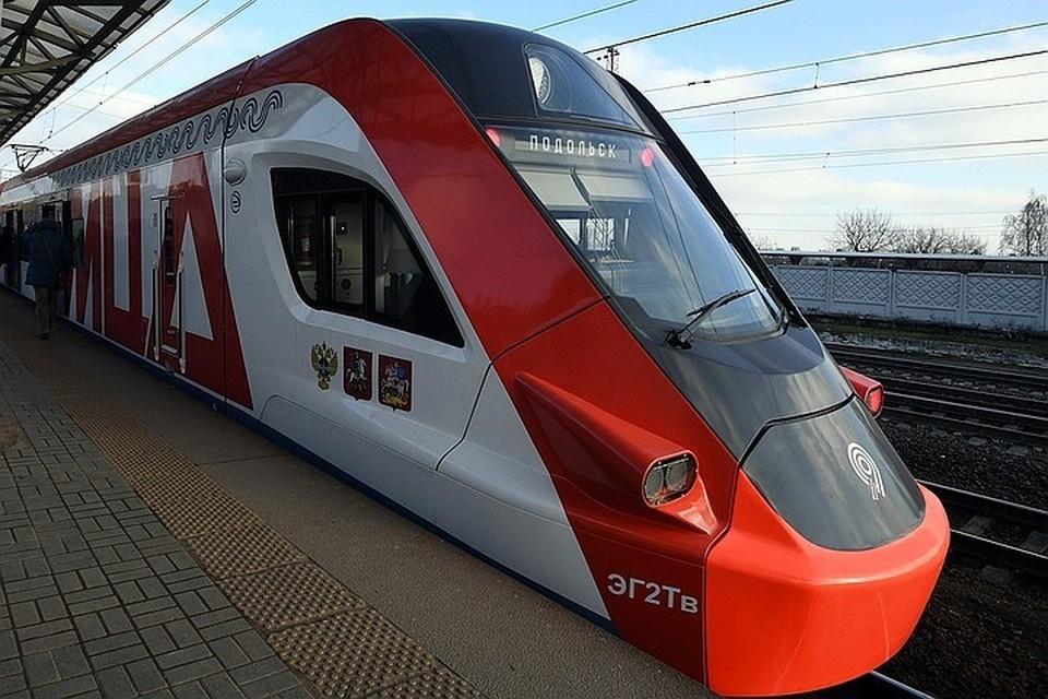 На МЦД-1 «Белорусско-Савеловский» вместо 7-вагонных составов сегодня запустили 11-вагонные поезда «Иволга 2.0».