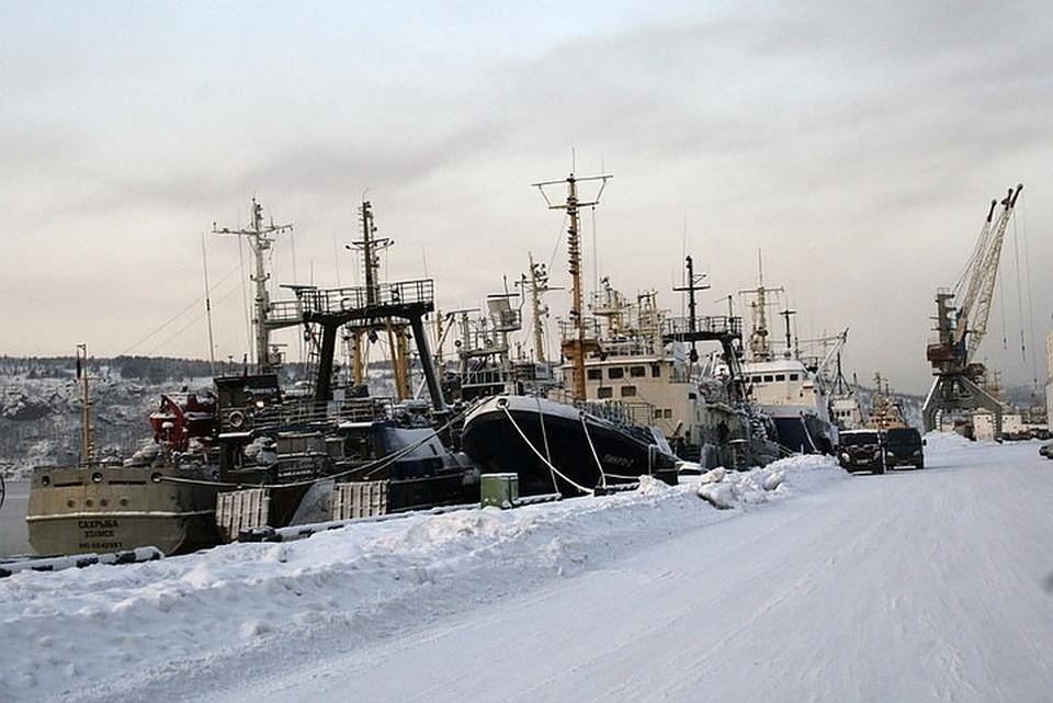 Сотрудники ФСБ изъяли в рыбном порту документацию. Фото: архив ММРП
