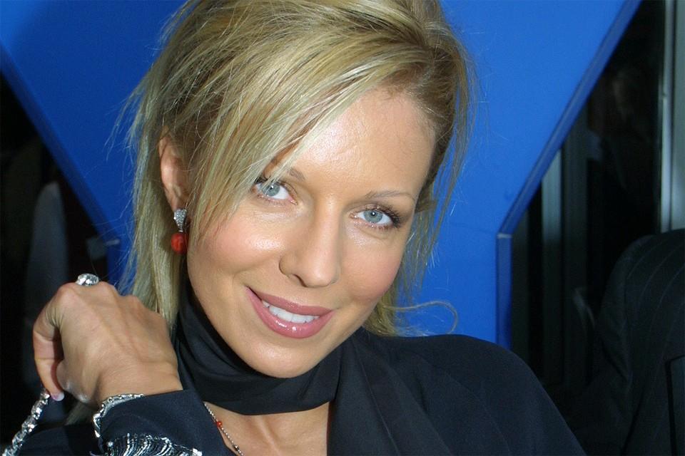 Певица Наталья Ветлицкая.