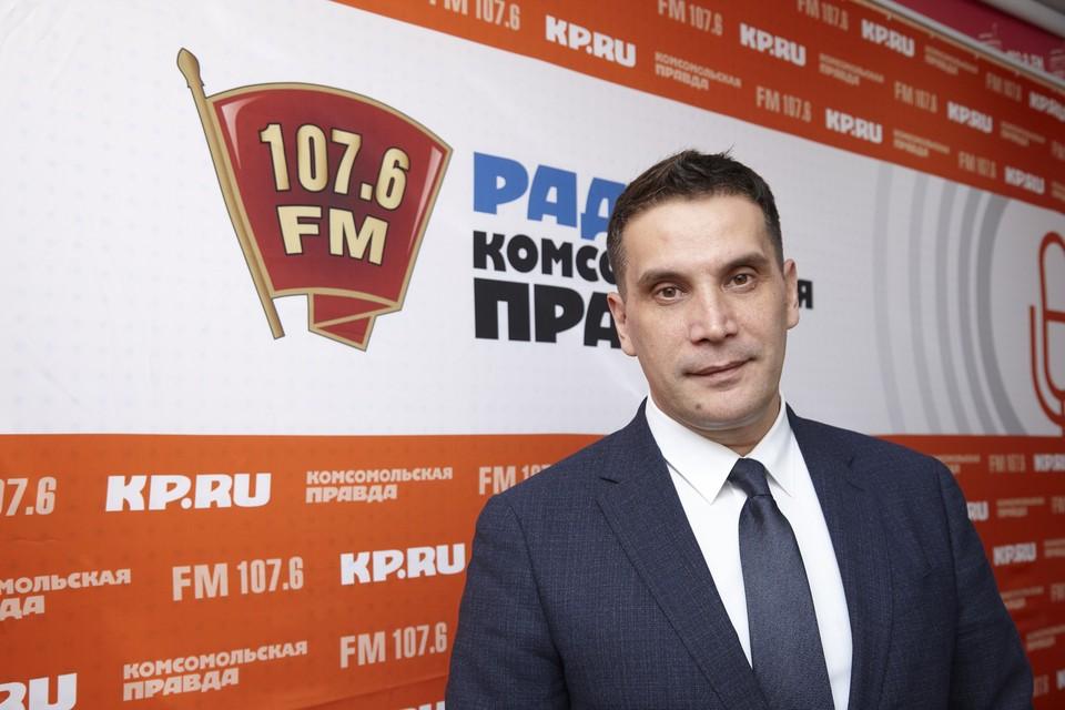 Министр строительства, ЖКХ и энергетики УР Дмитрий Сурнин