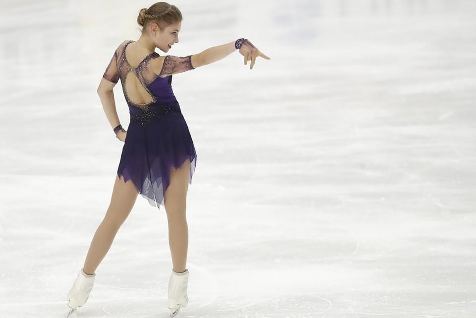 Алена Косторная поставила мировой рекорд по итогам короткой программы