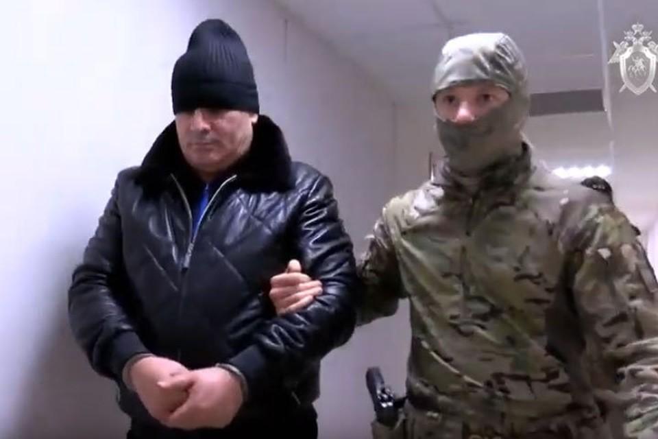 В пятницу в Москву был доставлен глава банды Хасан Полонкоев. Фото: СКР