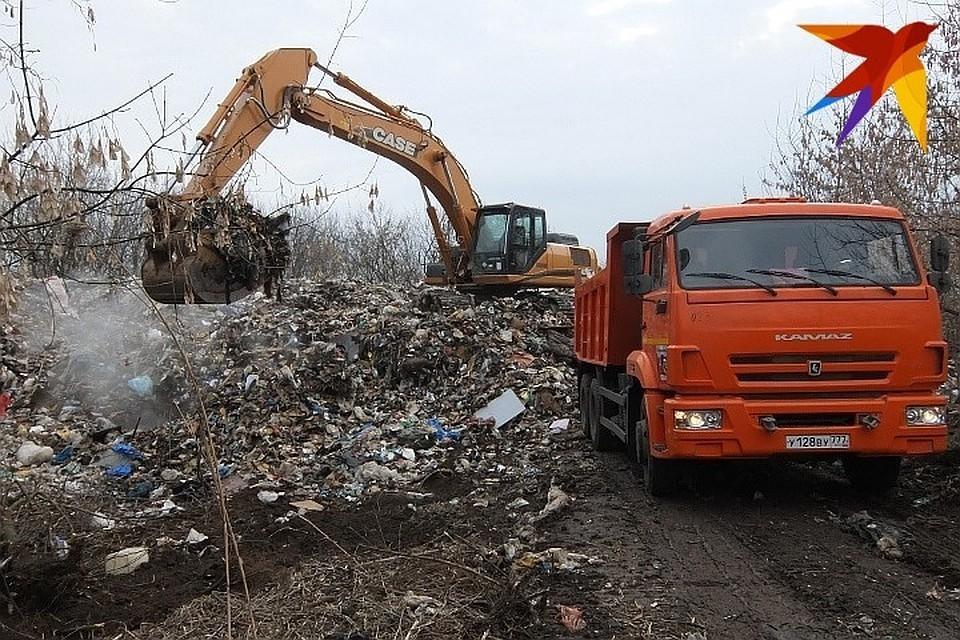 По настоянию прокуратуры в Сандово организовали площадки для сбора мусора