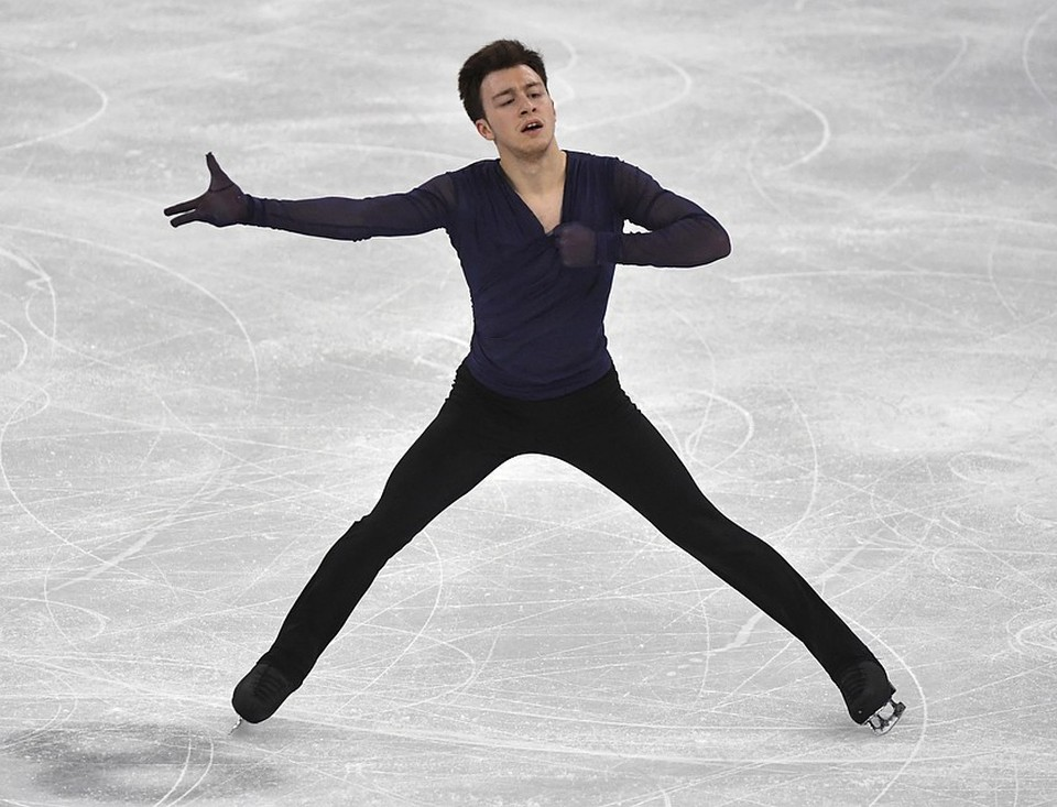 Дмитрий Алиев занимает четвертое место по итогам короткой программы