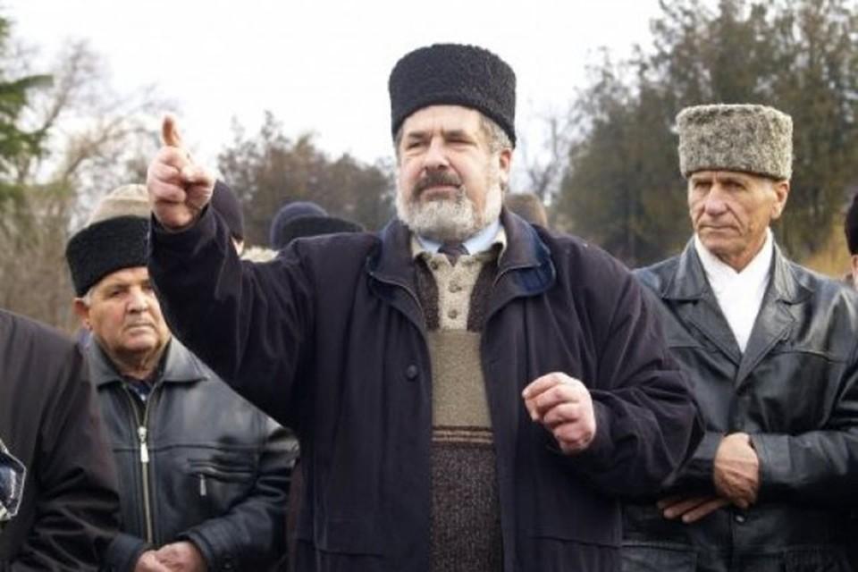 Рефат Чубаров не назвал точную дату акции. Фото: официальная страница на Facebook
