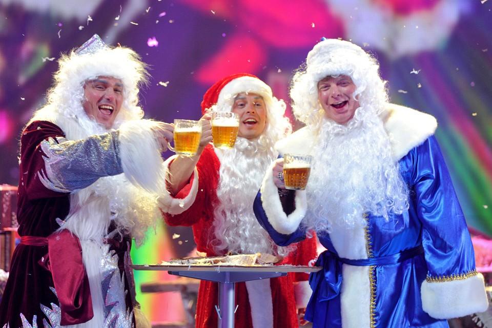На новогодних праздниках пиво по популярности обгонит шампанское.