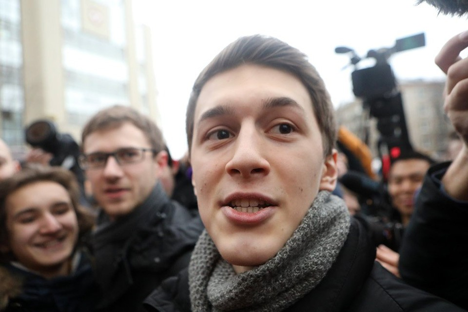Егор Жуков стал новой иконой либеральной общественности.