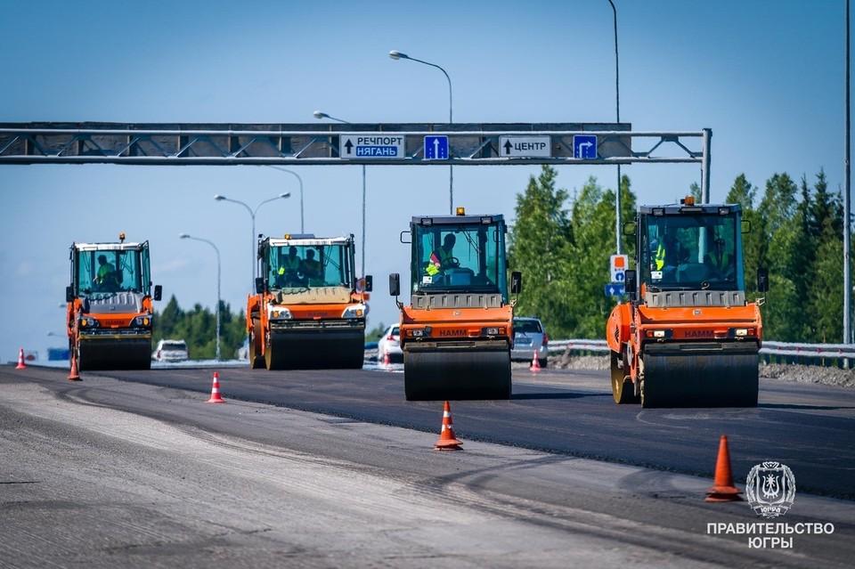 До 2024 года в нормативное состояние приведут 634 километра югорских дорог в рамках нацпроекта. Фото: Штаб правительства Югры