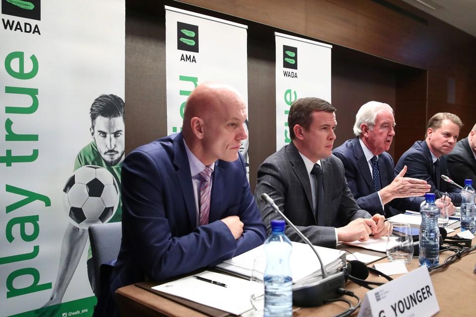 Пресс-конференция по итогам заседания исполкома WADA.