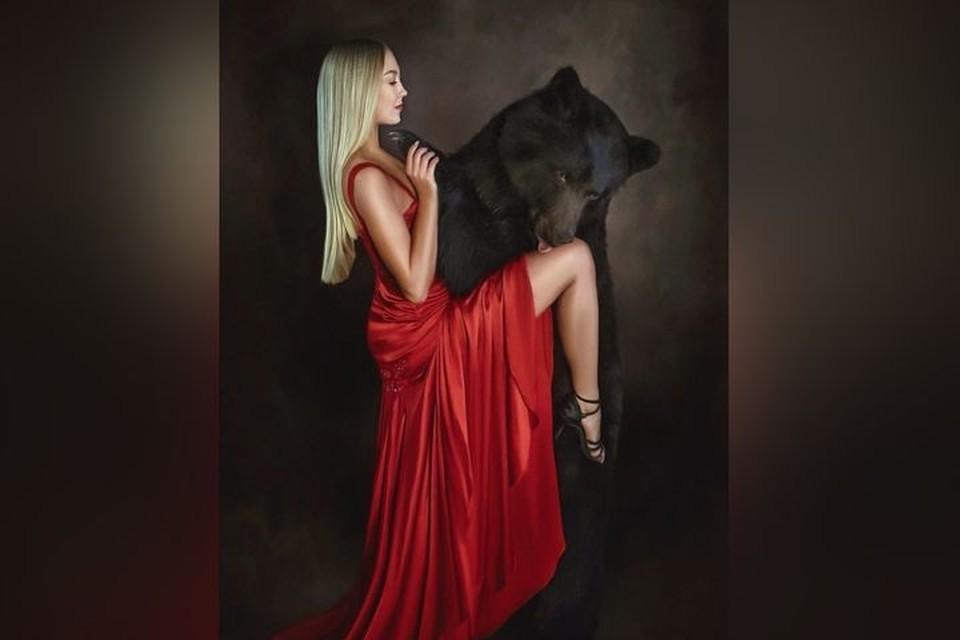 Медведь был настоящим джентльменом. Фото: Ольга Бурмистрова