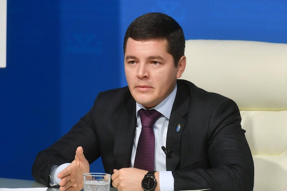 Дмитрий Артюхов рассказал, что было сделано в 2109 году в сфере благоустройства, здравоохранения, образования, социальной политики. Фото предоставлено пресс-службой правительства ЯНАО.