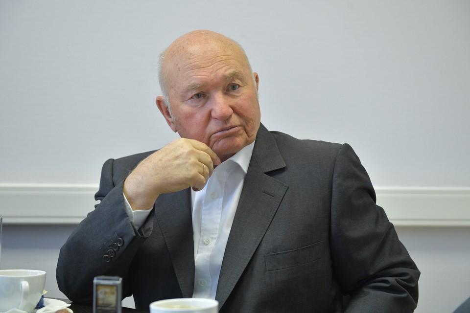 Последнее интервью Юрия Лужкова